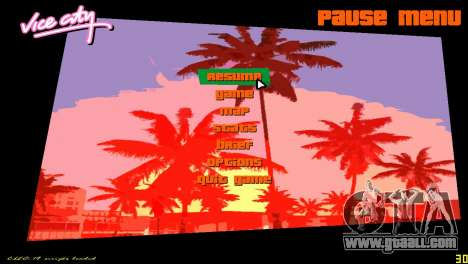 Square radar for GTA Vice City forth screenshot