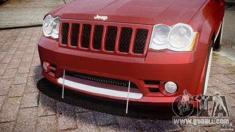 Jeep Grand Cherokee for GTA 4 upper view