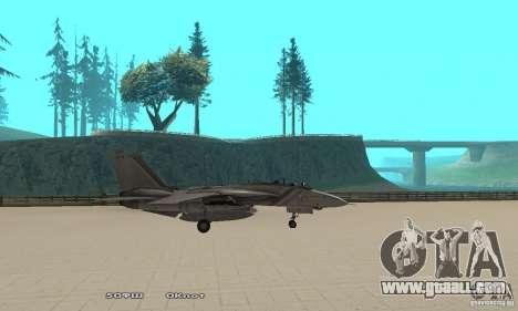 F14W Super Weirdest Tomcat Skin 1 for GTA San Andreas left view