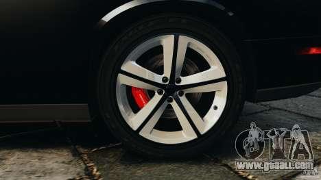 Dodge Challenger SRT8 392 2012 for GTA 4 interior