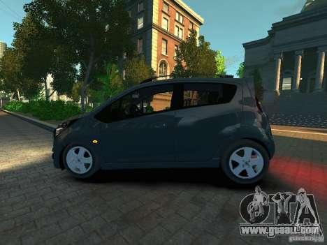 Chevrolet Spark for GTA 4 left view