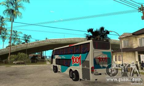 Marcopolo Paradiso 1800 G6 8x2 for GTA San Andreas back left view