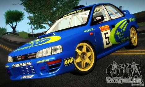 Subaru Impreza 1995 World Rally ChampionShip for GTA San Andreas left view