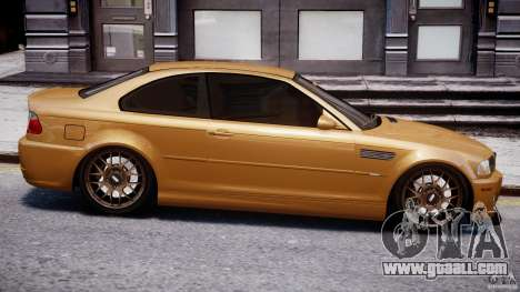 BMW M3 E46 Tuning 2001 v2.0 for GTA 4 side view