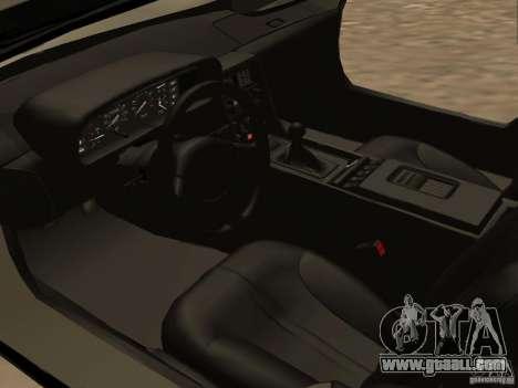 DeLorean DMC-12 for GTA San Andreas side view
