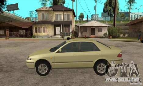 MAZDA 626 GF Sedan for GTA San Andreas left view