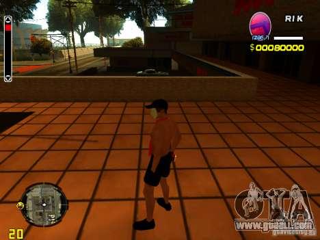 Skin Beach man for GTA San Andreas third screenshot