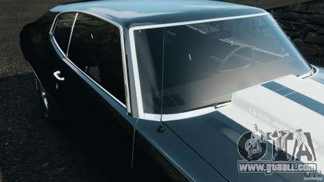 Chevrolet Chevelle SS 1970 v1.0 for GTA 4