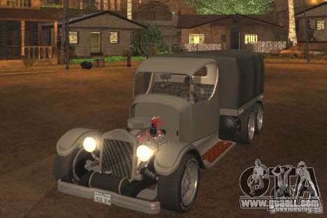 Ford Model-T Truck 1927 for GTA San Andreas left view