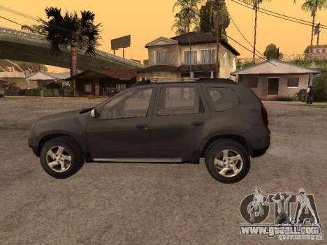 Dacia Duster for GTA San Andreas right view