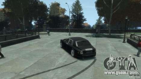 Rolls-Royce Phantom for GTA 4 back left view