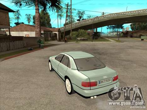 Audi A8 Long 6.0 W12 2002 for GTA San Andreas right view