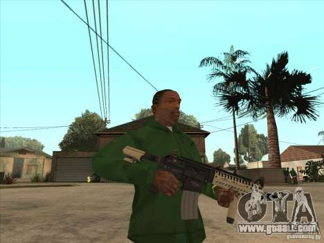 M4 from Call of Duty for GTA San Andreas second screenshot