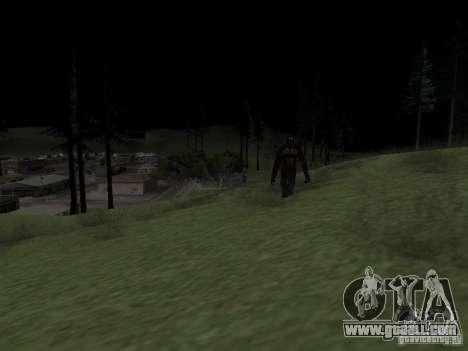 Snow man for GTA San Andreas second screenshot