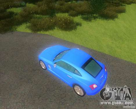 Chrysler Crossfire for GTA San Andreas left view
