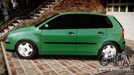 Volkswagen Polo 2.0 2005 for GTA 4 left view