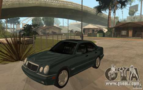Mercedes-Benz E420 W210 1997 for GTA San Andreas