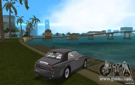 Rolls Royce Phantom for GTA Vice City right view