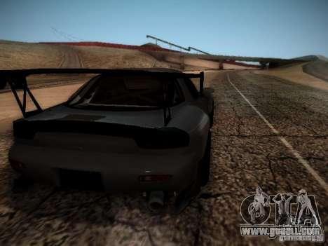 Mazda RX7 Drift for GTA San Andreas right view