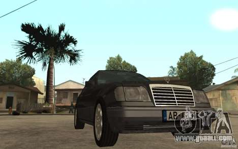 Mercedes-Benz 320CE C124 for GTA San Andreas back view