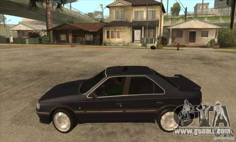 Peugeot 405 Mi16 for GTA San Andreas left view