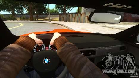 BMW M3 GTS Final for GTA 4 back view