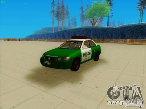 Nissan Sentra Carabineros De Chile for GTA San Andreas