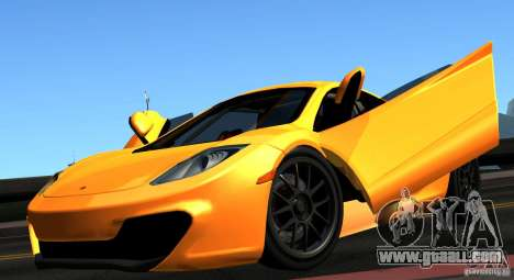 McLaren MP4-12C TT Black Revel for GTA San Andreas