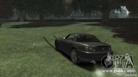 Honda S2000 for GTA 4 left view
