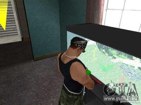 Aquarium for GTA San Andreas forth screenshot