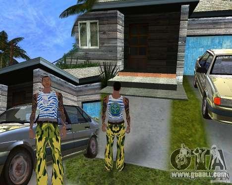 CJ VDV for GTA San Andreas