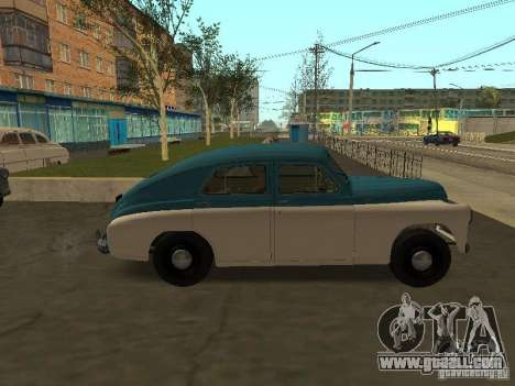 GAS M20V Victory for GTA San Andreas left view