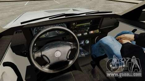 Volkswagen Santana Shanghai Century Rookie for GTA 4 inner view