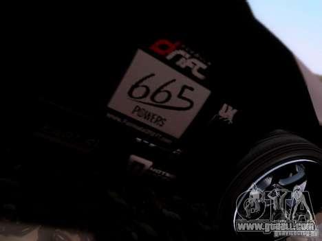 Nissan Silvia S14 Matt Powers v4 2012 for GTA San Andreas back view