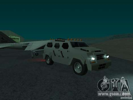 FBI Truck from Fast Five for GTA San Andreas right view