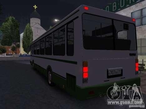 LIAZ 5256 Suburban for GTA San Andreas right view