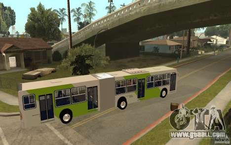 Caio Induscar Mondego Articulado Transantiago for GTA San Andreas right view