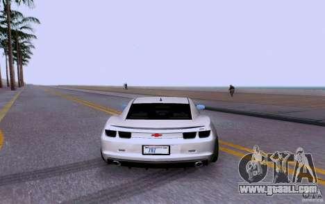 Chevrolet Camaro Super Sport 2012 for GTA San Andreas right view