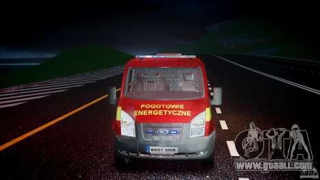 Ford Transit Polski uslugi elektryczne [ELS] for GTA 4 side view