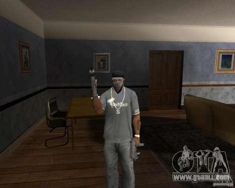 Pp-91 kedr for GTA San Andreas third screenshot