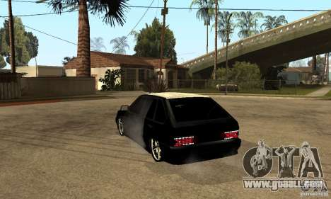 Lada ВАЗ 2114 LT for GTA San Andreas back left view