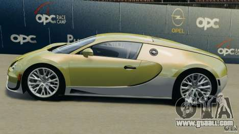 Bugatti Veyron 16.4 Super Sport 2011 v1.0 [EPM] for GTA 4 left view