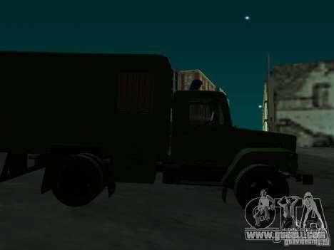 GAZ 3309 paddy wagon for GTA San Andreas inner view