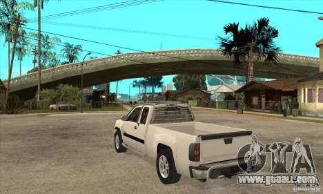 GMC Sierra for GTA San Andreas back left view