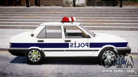 Tofas Sahin Turkish Police v1.0 for GTA 4 back view