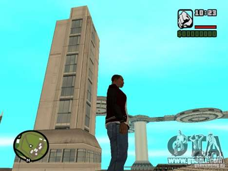 House 4 cadets from the game Star Wars for GTA San Andreas third screenshot