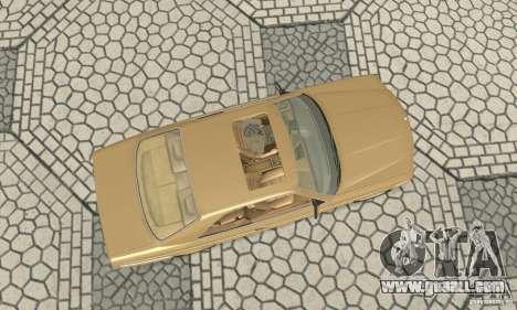 Mercedes-Benz W126 560SEC for GTA San Andreas right view