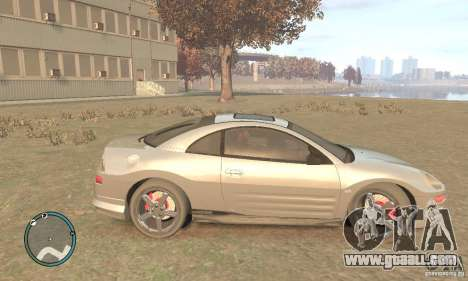 Mitsubishi Eclipse Spyder for GTA 4 left view