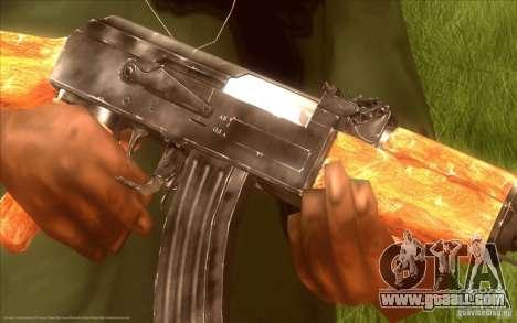 Kalashnikov HD for GTA San Andreas second screenshot