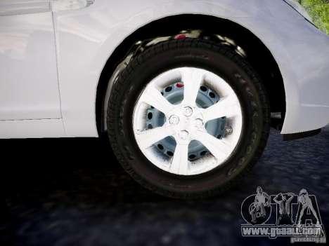 Hyundai Accent Era for GTA 4 right view